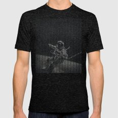 Amongst Mens Fitted Tee Tri-Black SMALL