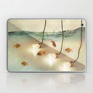 Ideas And Goldfish Laptop & iPad Skin