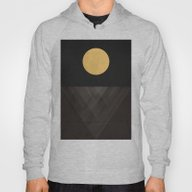 Moon Reflection On Quiet… Hoody