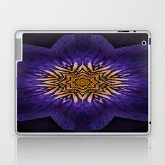 my purple flower Laptop & iPad Skin