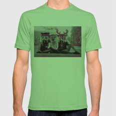 party animals Mens Fitted Tee Grass SMALL