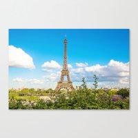 Cloud 9 - Eiffel Tower Canvas Print