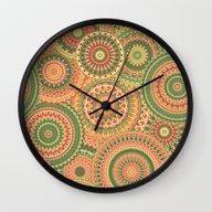 Mandala 120 Wall Clock
