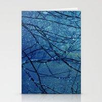 Rainy Day Blues Stationery Cards