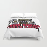 From Russia With Love Duvet Cover