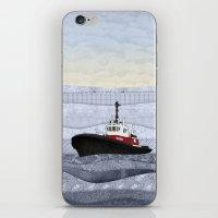 Tugboat iPhone & iPod Skin