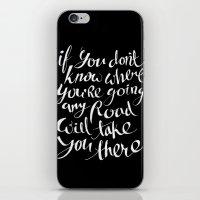 Roads iPhone & iPod Skin