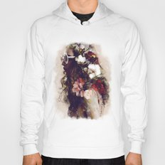 The girl with the flowers in her hair Hoody