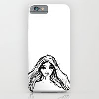 iPhone & iPod Case featuring Girl Hair by Mandy Yong