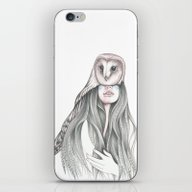 iPhone & iPod Skin featuring Medicine Woman by Andrea Hrnjak