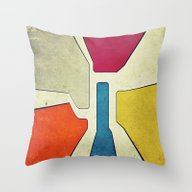 Throw Pillow featuring GeoG21 by Thinschi