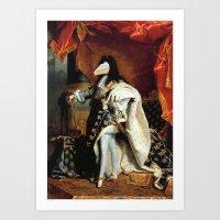 Loubrie Le XIV Art Print