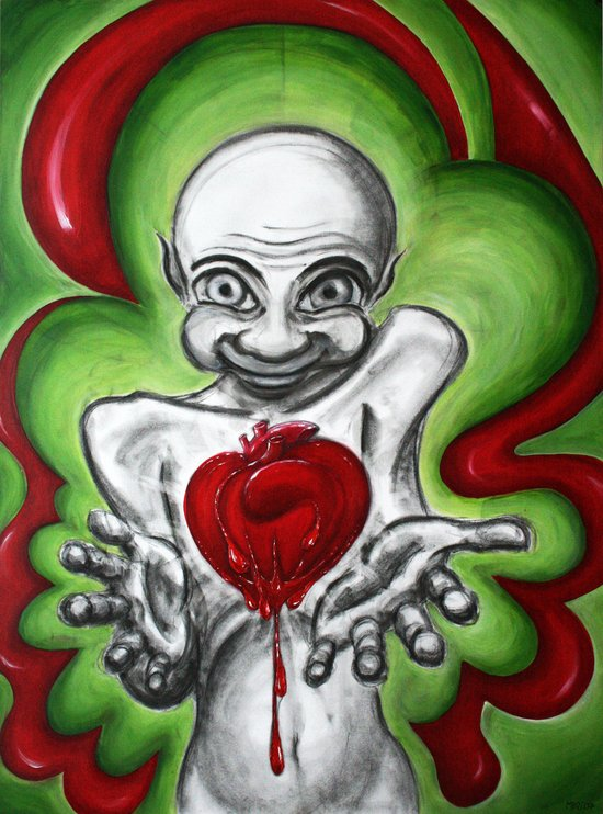 HeartAttack Art Print
