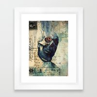 Skullman Framed Art Print