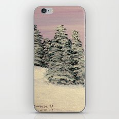 Winters soft blanket iPhone & iPod Skin