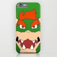 iPhone & iPod Case featuring Bowser Super Mario Bros. by JAGraphic