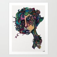 All In The Colors Art Print