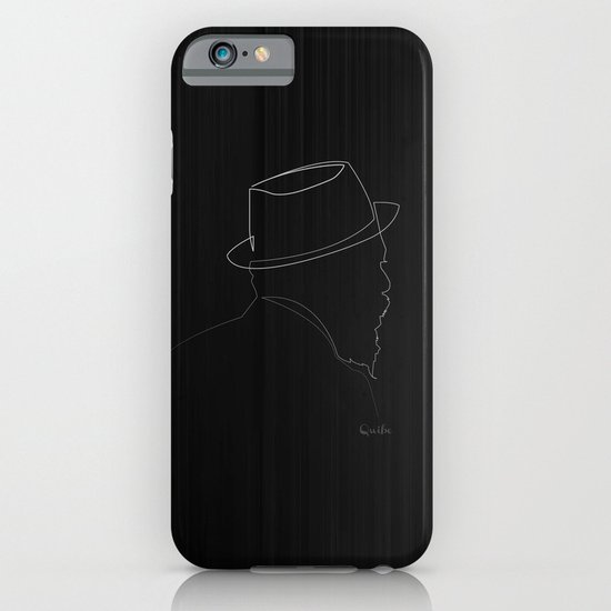 One line Thelonious Monk iPhone & iPod Case