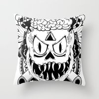 Need more brains! Throw Pillow