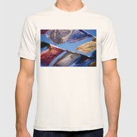 Nepal Mens Fitted Tee Natural SMALL