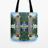 What! I AM AN OSTRICH So… Tote Bag