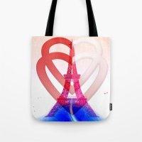 PARIS LOVE Tote Bag