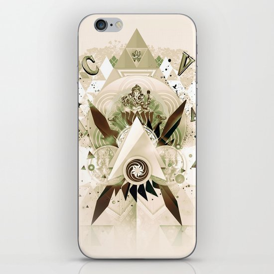 Worship Ganesh iPhone & iPod Skin