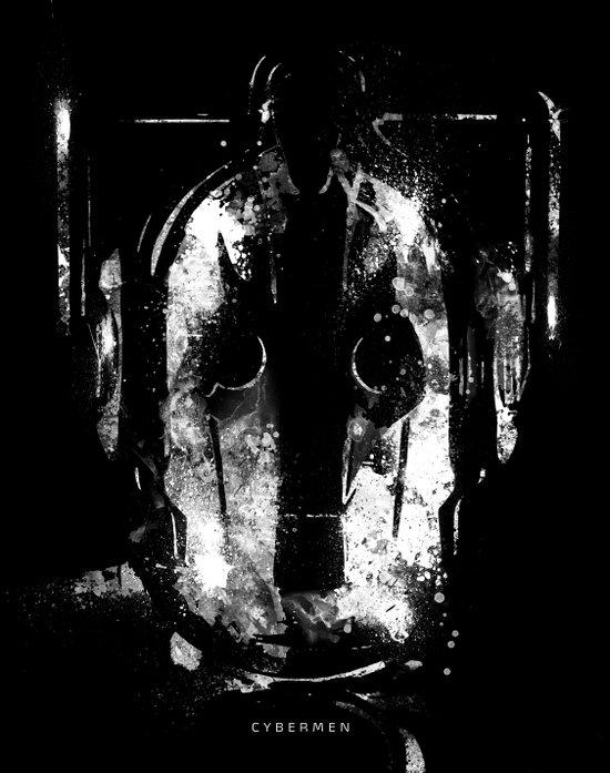 Cybermen Art Print