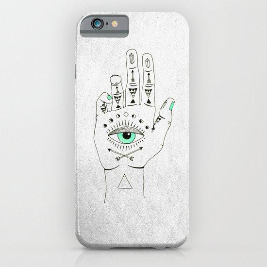 EYE SEE HAMSA iPhone & iPod Case