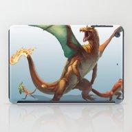 Pokemon-Charizard iPad Case