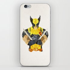 Polygon Heroes - Wolverine iPhone & iPod Skin