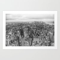 New York Manhattan Build… Art Print