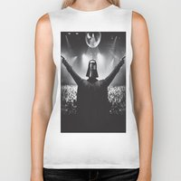 Darth Vader rocks the party Biker Tank