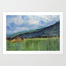 Alpine Trail Art Print