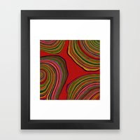 Boho Islands Framed Art Print