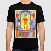 Charles Woodson Dazzles The Space Babe and Other Spectators, Nike Air Max Swamp Gut Bowl 1997 Mens Fitted Tee Black SMALL