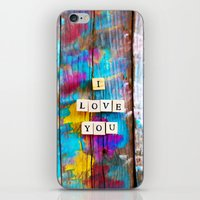 Only Love 5 iPhone & iPod Skin