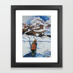 Undecided Framed Art Print