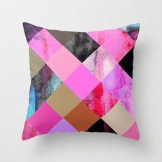 colour + pattern 14 Throw Pillow