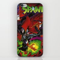 Spawn 1 cover iPhone & iPod Skin