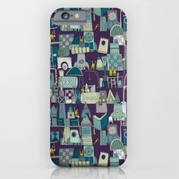 iPhone & iPod Case featuring space rocket construction by Sharon Turner