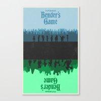 Futurama - Bender's Game Canvas Print