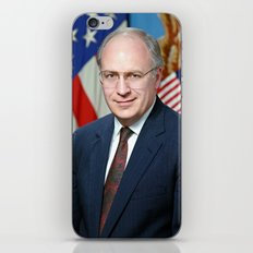 Official portrait of Secretary of Defense Richard B. Cheney iPhone & iPod Skin