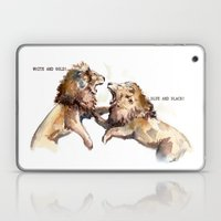 Dress Fight - Blue Or Wh… Laptop & iPad Skin