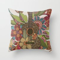 Ever Guitar Throw Pillow