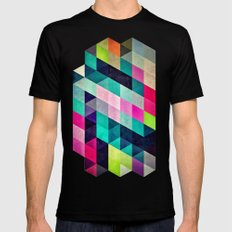 Cyrvynne xyx SMALL Mens Fitted Tee Black