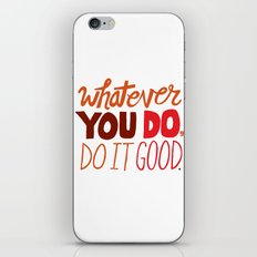 Express Yourself iPhone & iPod Skin
