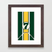 Lotus 7 Framed Art Print