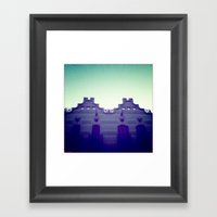 Symmetry Framed Art Print