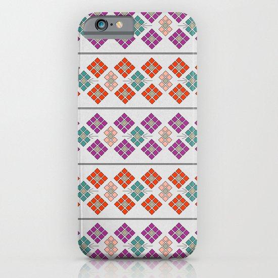 Geometric Flowers iPhone & iPod Case